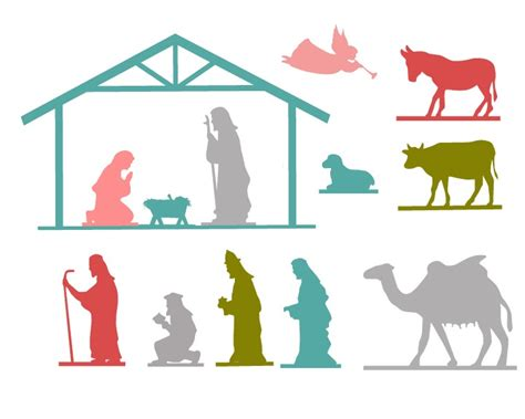 nativity silhouette woodworking patterns the 36th avenue nativity free printable the 36th avenue