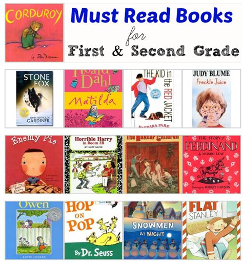 picture books for 2nd graders and second grade must read books