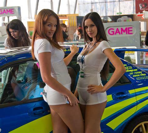 file two promotional models at igromir 2009 jpg