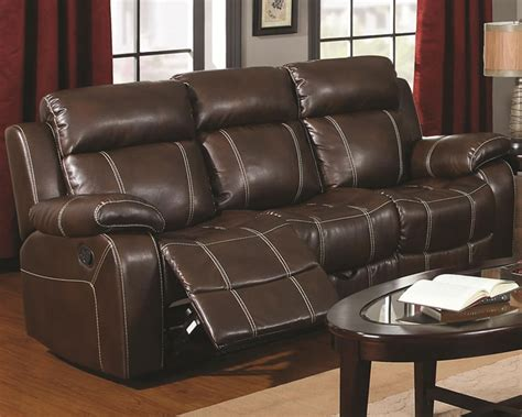 sofa leather recliner leather sofa recliner the interior designs