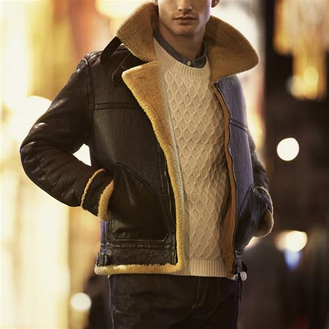 leather and shearling jacket belstaff shearling leather jacket soletopia