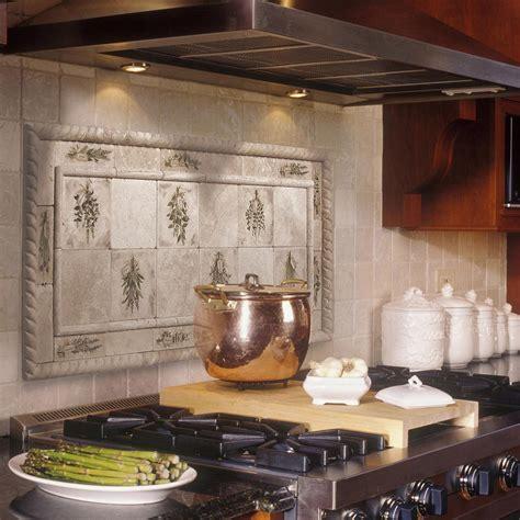kitchen tile murals tile backsplashes make the kitchen backsplash more beautiful inspirationseek