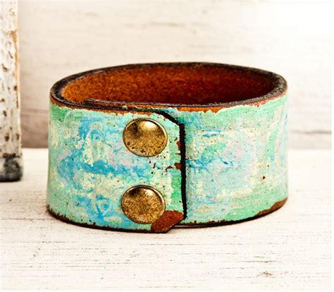 leather cuffs for jewelry upcycled repurposed belts crafts ideas recycled things
