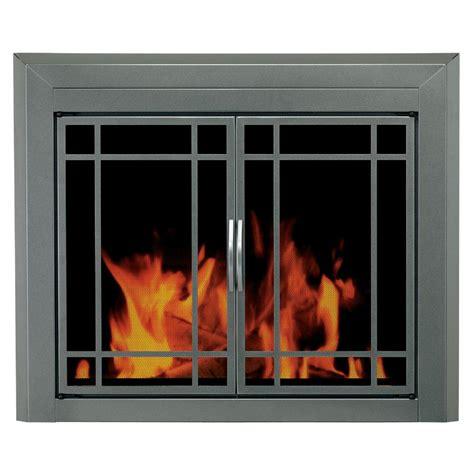 glass fireplace screens with doors pleasant hearth edinburg large glass fireplace doors ed