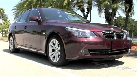 2009 Bmw 535i Barbara Red Metallic A2772 Youtube Metallic Paint Colors For Vehicles