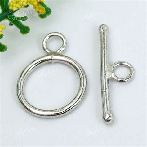 silver findings for jewelry 925 sterling silver toggle lobster clasps hook rings