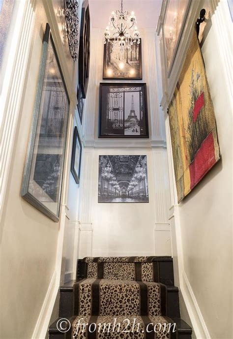 stairway decor how to add interest to a narrow stairway hometalk