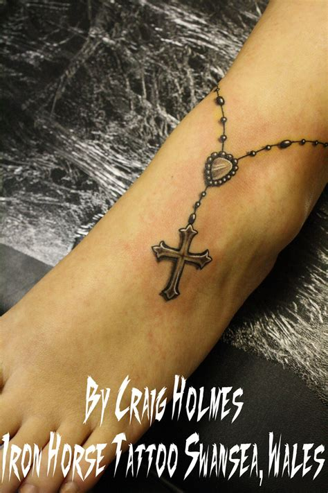 images of rosary bead tattoos rosary with cross by craig by