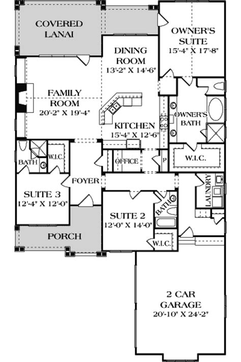 floor plans aflfpw08623 2 story craftsman home with one story craftsman home plan 17704lv 1st floor master