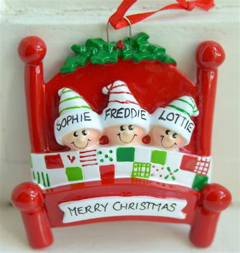 personalised decorations family personalised decoration by letteroom