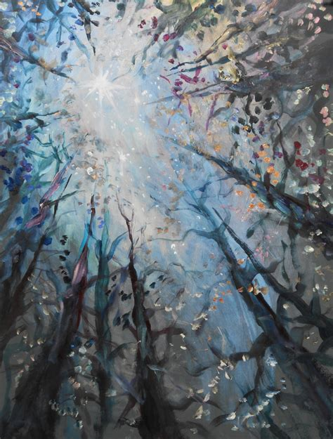 paint nite woodland lo 239 s cordelia winter landscapes speed acrylics workshop