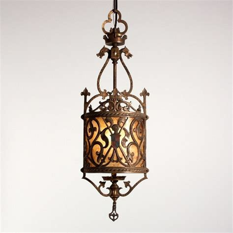 antique revival lighting mediterranean