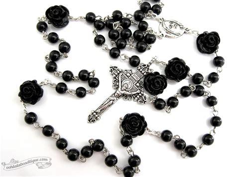black rosary for black rosary necklace catholic rosary rosaries