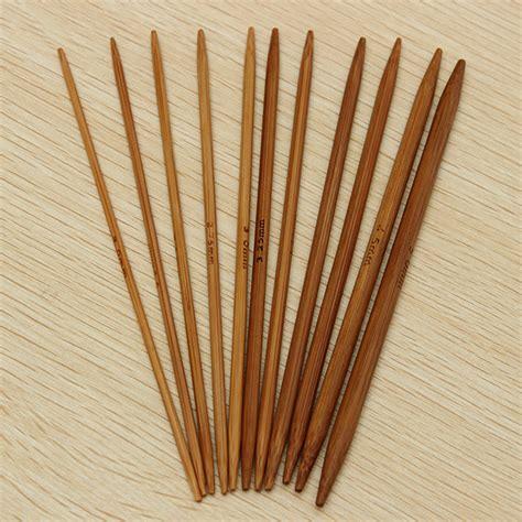 knitting with bamboo needles 55pcs 11 sizes carbonized bamboo knitting needles crochet