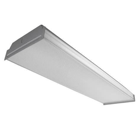 shop utilitech prismatic acrylic ceiling fluorescent light