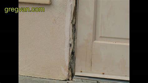 exterior door jamb repair termite damage around door jamb trim home repair tips