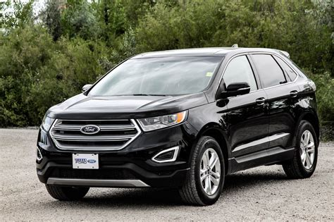 Black Ford Edge by Ford Edge Winnipeg 2018 2019 Ford Reviews