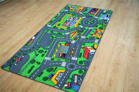 play rug with roads kid play rug cool play rugs from by design kidsomania