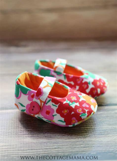 Joann Fabrics Home Decor mary jane baby shoes pattern the cottage mama