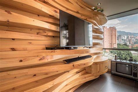 wood walls warmth and texture 10 unique living room wood accent walls
