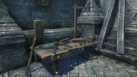 woodworking elder scrolls player home personal crafting stations concepts elder