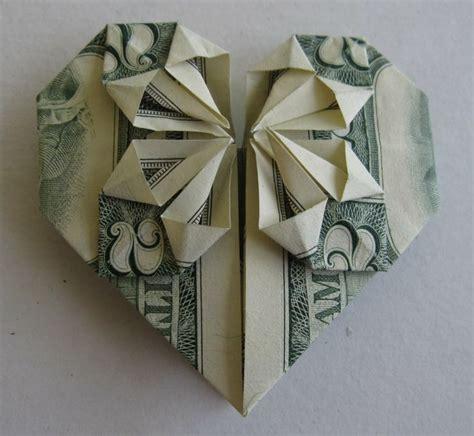 money origami with quarter paper folding dollar bills