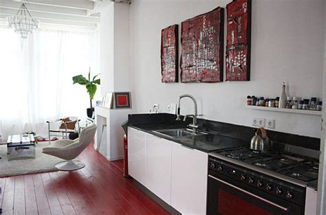 painted kitchen floors 20 painted floors with modern style