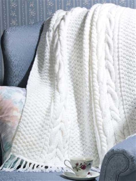 cable knit throw pattern free free cabled afghan knitting patterns horseshoe cable