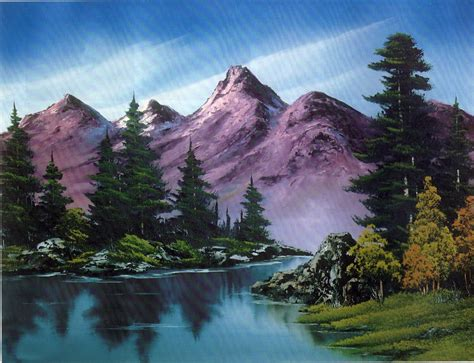 bob ross painting classes in ohio bob ross bobs and cabin on