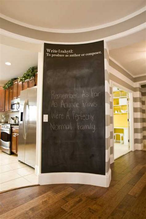 chalk paint design ideas creative interior decorating ideas 26 black chalkboard
