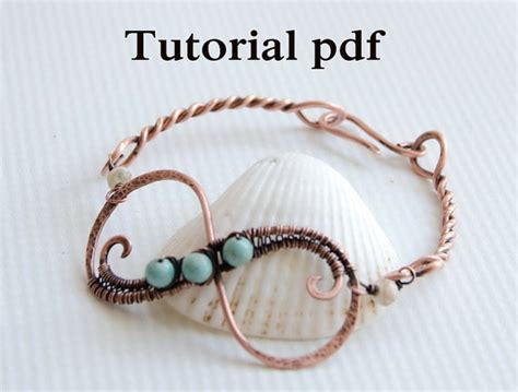 beginners jewelry tutorial infinity bangle simple jewelry lesson for beginners