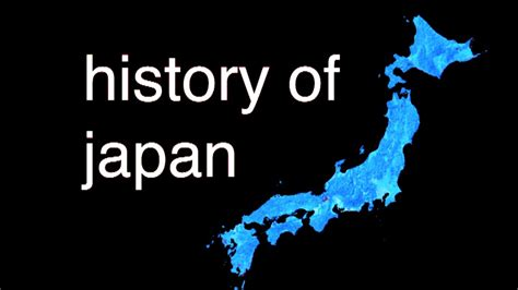the history of history of japan