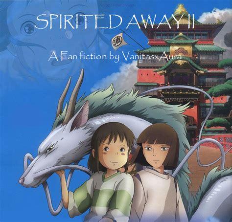 spirited away 2 spirited away ii cover by nekalibea on deviantart