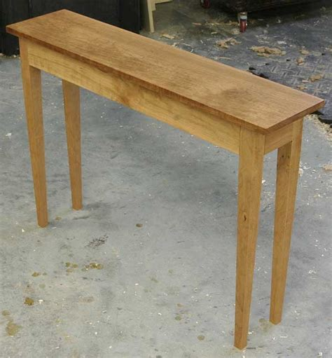 sofa table woodworking plans a sofa table of sorts popular woodworking magazine