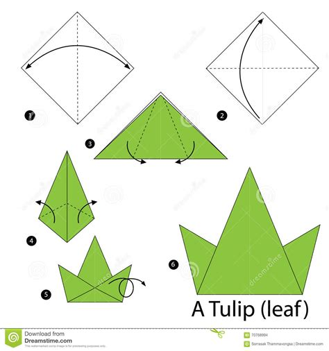 simple origami tulip origami origami tulip origami easy