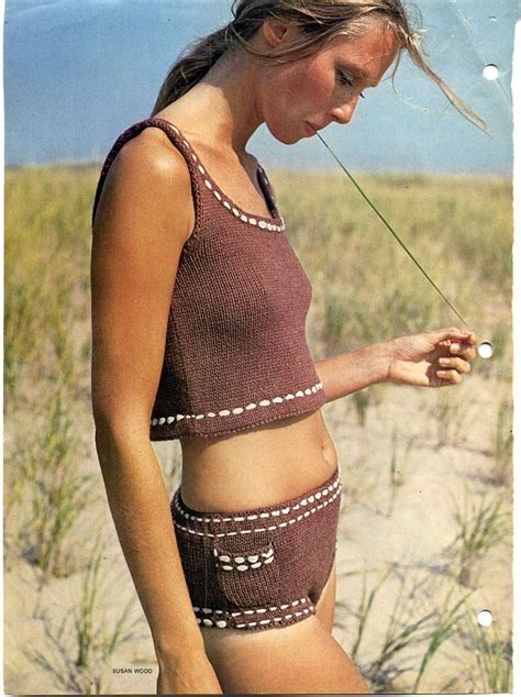 knit bathing suit vintage knitted crocheted bathing suits loom knitting