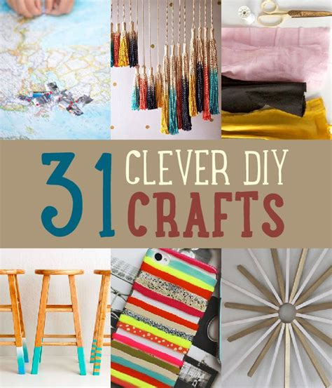 diy craft projects 31 easy clever diy crafts and project ideas save on crafts
