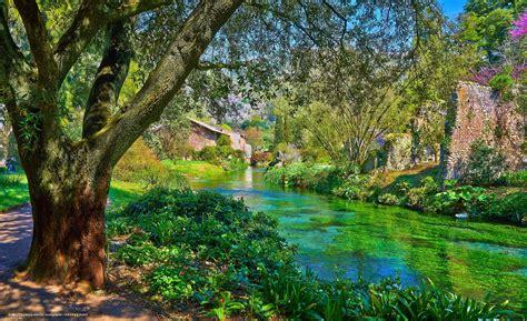 Der Garten Ninfa by Hintergrund Garten Ninfa Italien