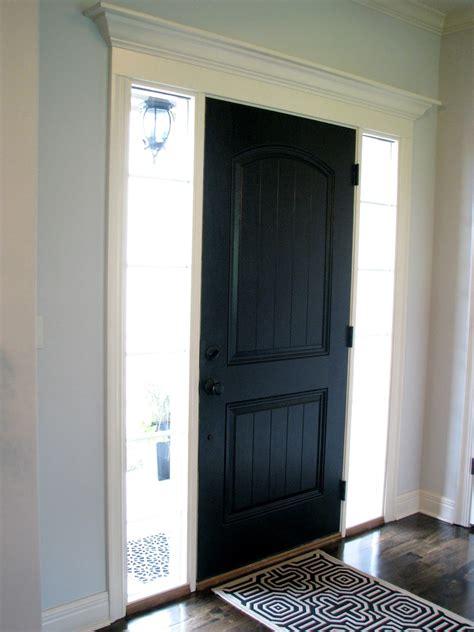 black doors interior larson black interior front door