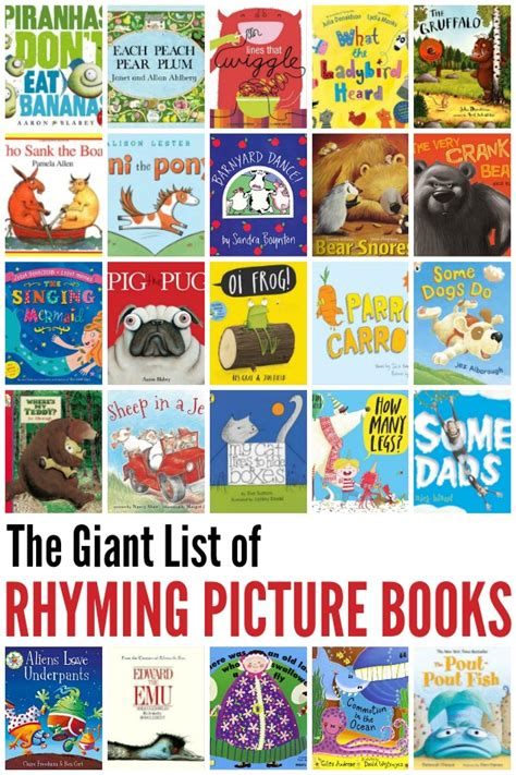 best picture books for children best rhyming books for childhood101