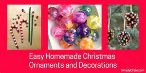 easy home made ornaments easy ornaments and decorations