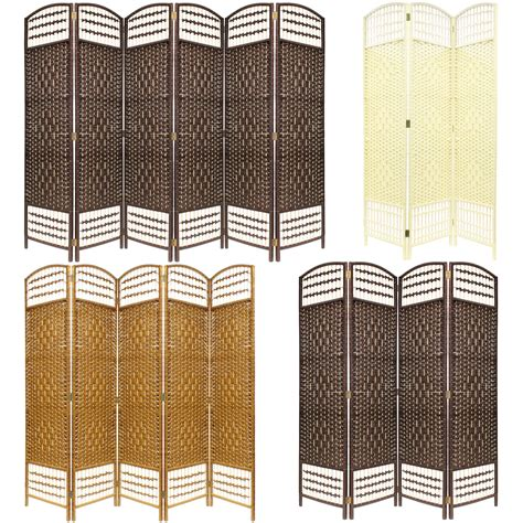 Room Dividers Made To Measure Made Wicker Room Divider Separator Privacy Screen