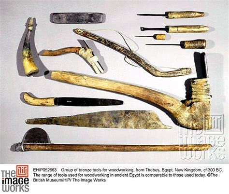 ancient woodworking tools and artifacts