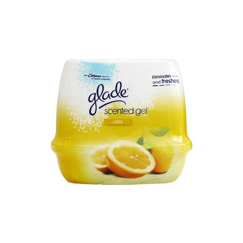 how to use scented gel glade scented gel 180g lemon air freshener household