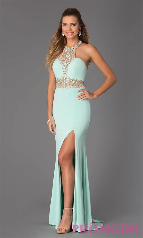 beaded halter prom dress jvn by jovani 2053 beaded halter prom gown