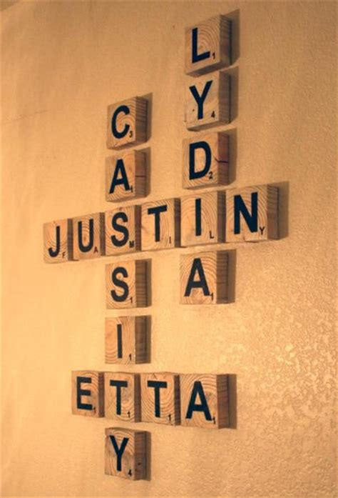 scrabble letters for the wall scrabble wall family crafts