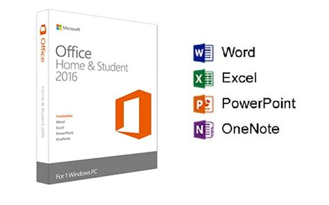 home microsoft office microsoft office 2016 home and student on software pc