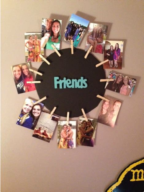 diy clothespin picture frame crumbs crafts