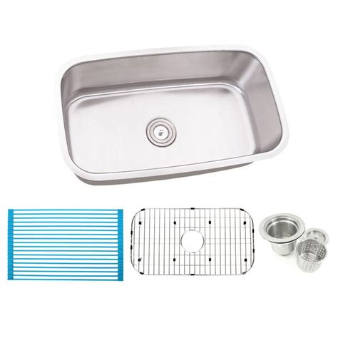 stainless steel undermount single bowl kitchen sink 30 inch stainless steel undermount single bowl kitchen