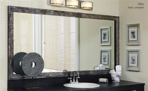 bathroom mirrors with frames mirror frames for mirrors mirrormate frames